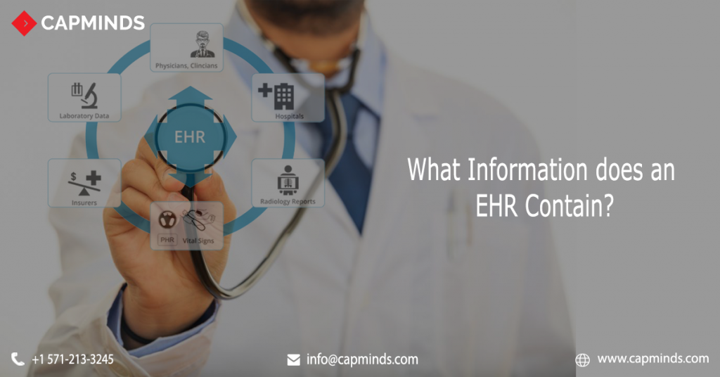 What Information does an EHR Contain?